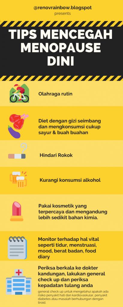Tips Mencegah Menopause Dini
