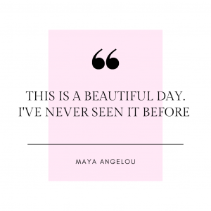 gratitude journal maya angelous quote