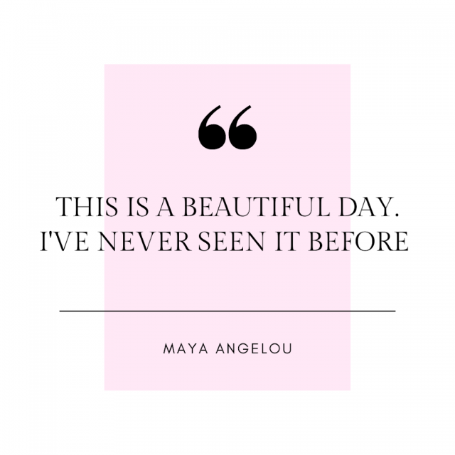 gratitude journal maya angelous quote