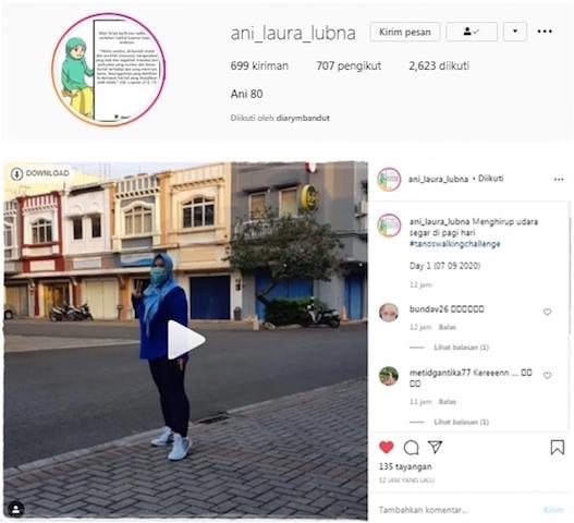 Tantangan Olahraga Jalan Kaki, serunya Tanos September Day 1 | Tanos Challenge | olahraga jalan kaki | RenovRainbow