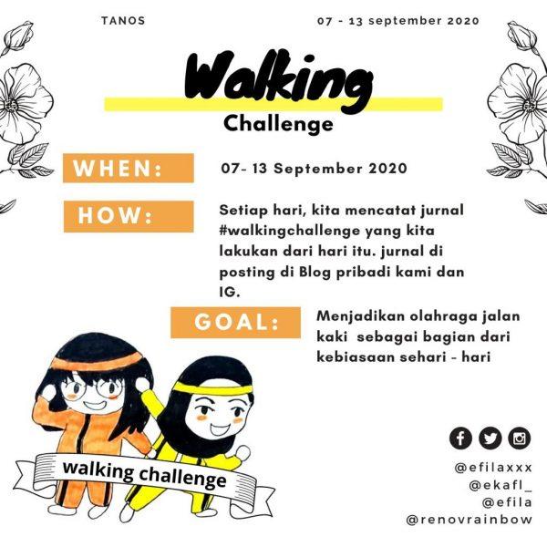 tanos walking challenge
