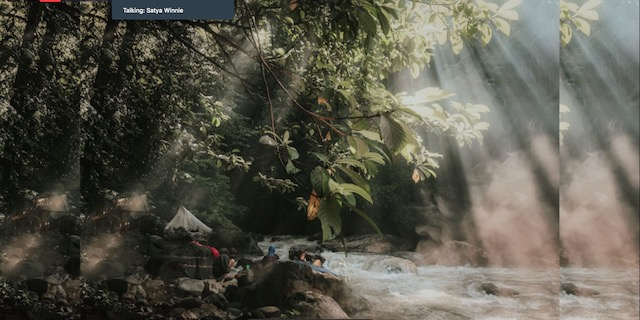 Camping Pinggir Sungai Alas