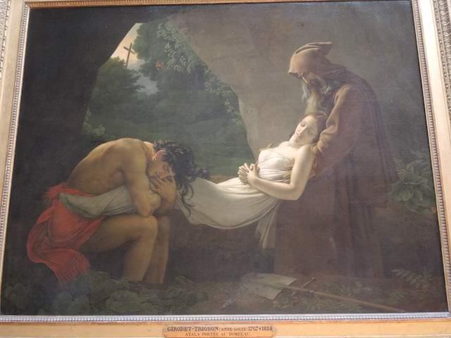 Girodet Trioson, Louvre Museum. Koleksi pribadi