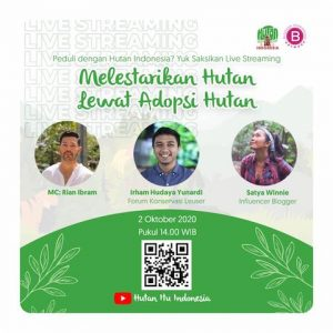 Adopsi Hutan Online Blogger Gathering