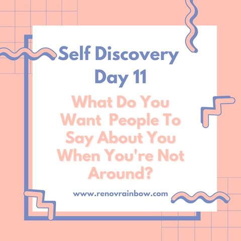 self discovery day 11