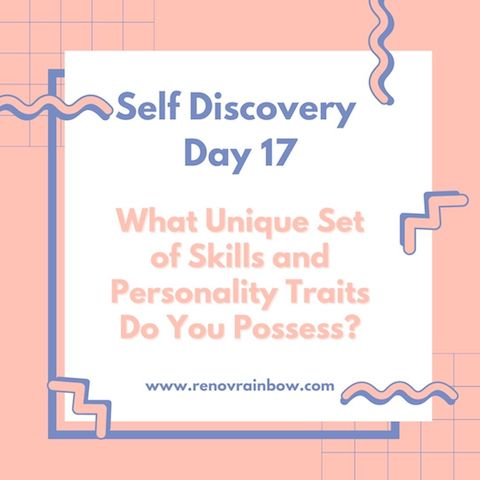 Self Discovery journal day 17