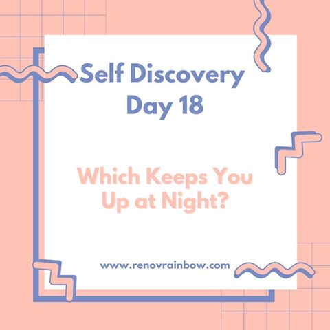 Self Discovery journal day 18