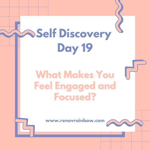 self discovery journal day 19
