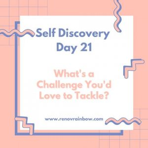 self discovery journal day 21