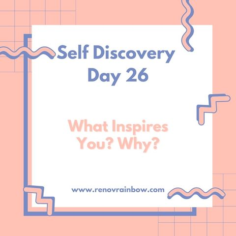 Self Discovery Day 26