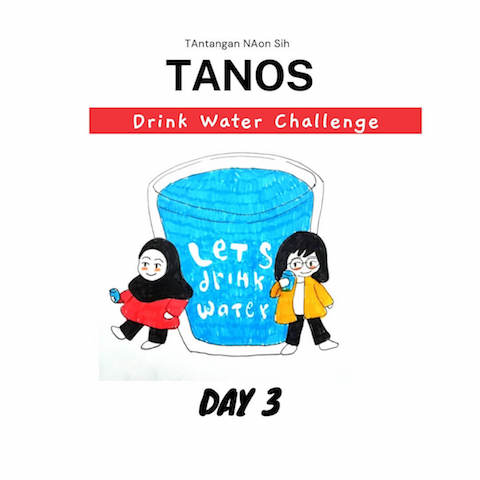 tanos drink water challenge day 3