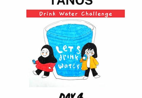 Tanos drink water challenge day 4