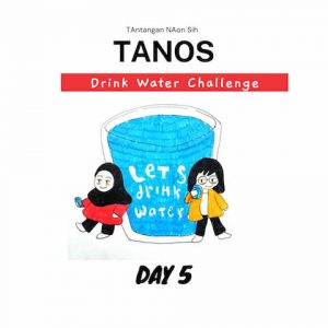 Tanos drink water challenge day 5