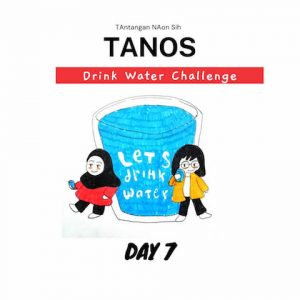 Tanos drink water challenge day 7