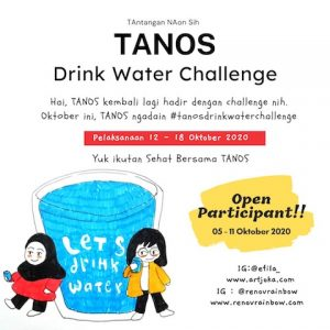 Tanos Drink Water Challenge