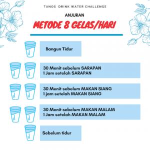 jadwal minum air putih
