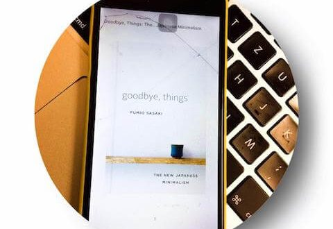 review buku goodbye things Fumio Sasaki
