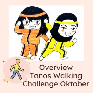 Overview Tanos Walking Challenge Oktober