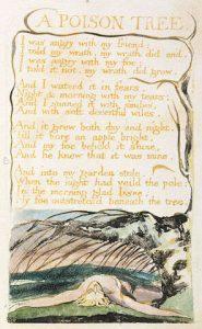 A Poison Tree Lukisan Tangan William Blakes