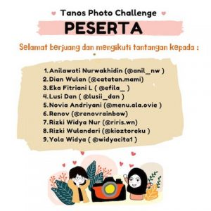 Pejuang Tanos Photo Challenge