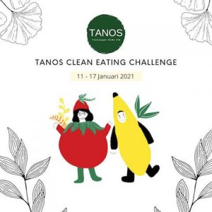 Tanos Clean Eating Challenge Flyer