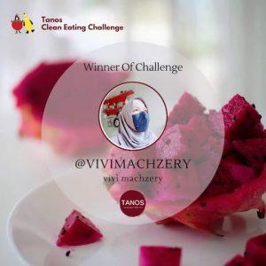 pemenang tanos clean eating challenge