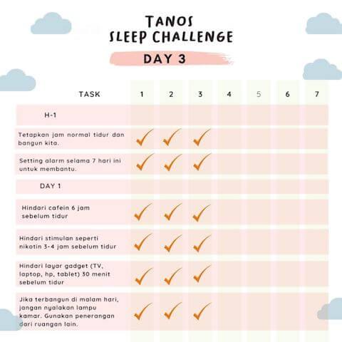 D3 kebiasaan baik sebelum tidur 1
