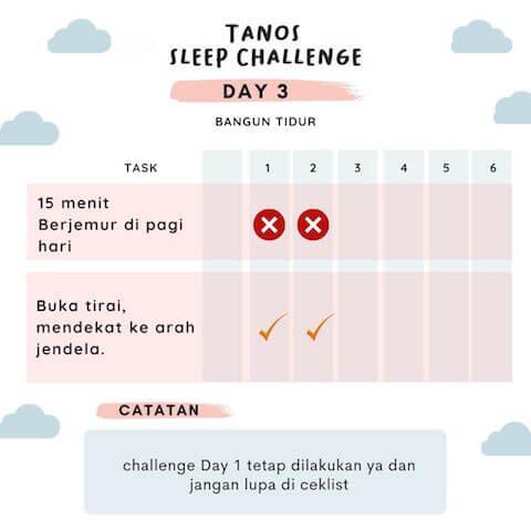 D3 kebiasaan baik sebelum tidur 2