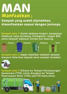 MANfaatkan sampah