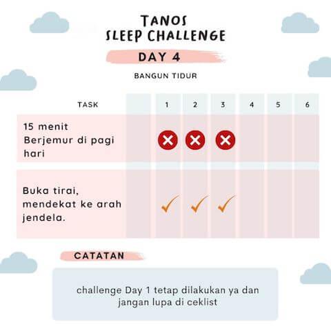 d4 kebiasaan baik sebelum tidur 2