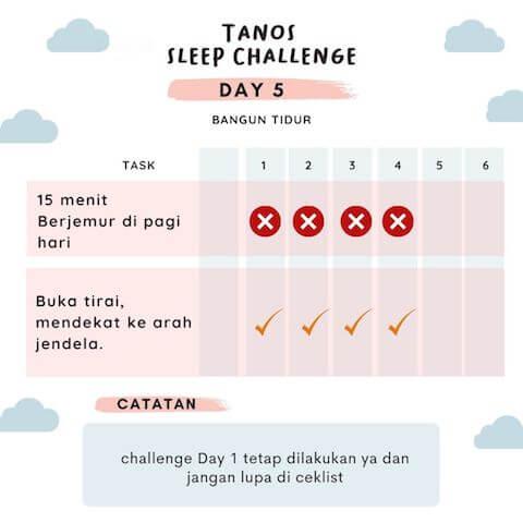 d5 kebiasaan baik sebelum tidur 2