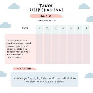 kebiasaan baik sebelum tidur