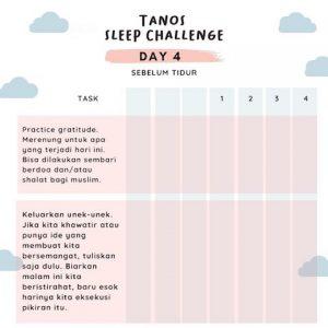Manfaat dari Bersyukur Sebelum Tidur, TSC Day 4 | Tanos Challenge | manfaat dari bersyukur | RenovRainbow