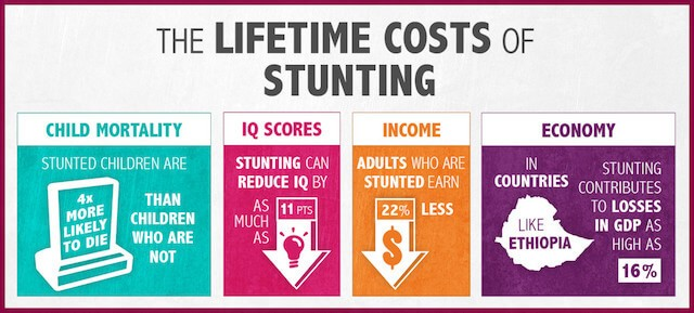 the lifetime costs of stunting