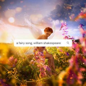 terjemahan puisi a fairy song