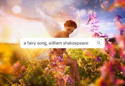 terjemahan puisi a fairy song
