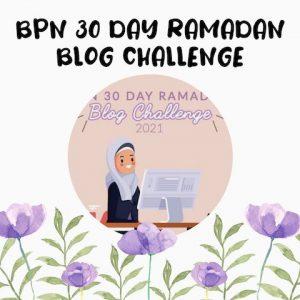 Ramadan Blog Challenge