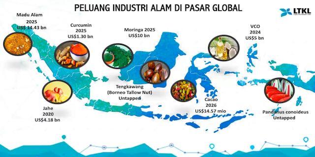 peluang industri alam di pasar global