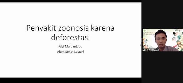 penyakit zoonosis karena deforestasi